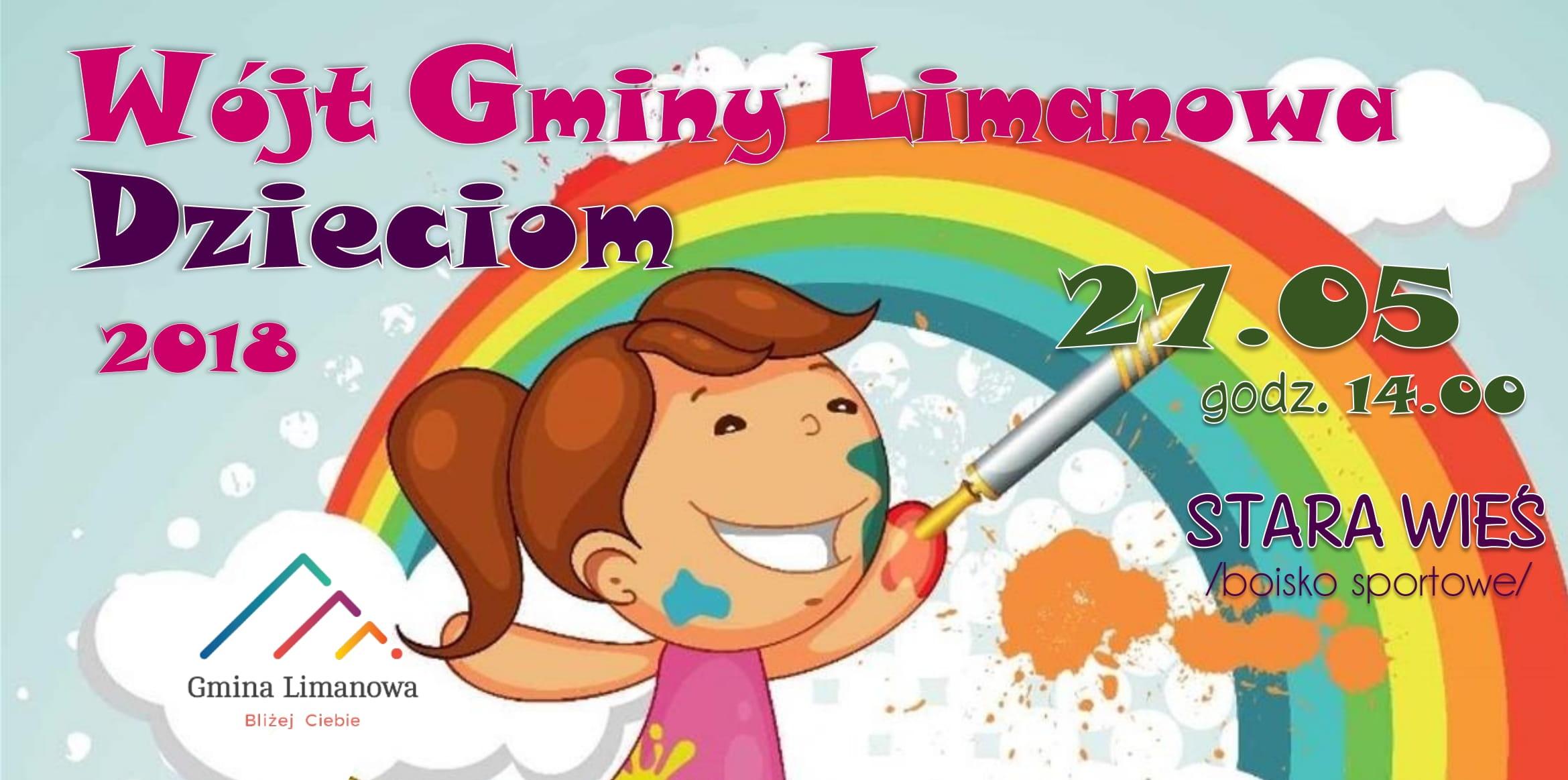 Przed nami Gminny Dzień Dziecka - już w najbliższą niedzielę 27 maja! - zdjęcie główne
