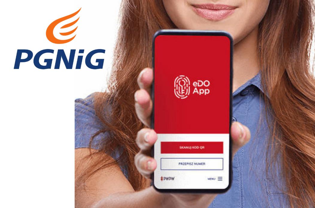 Nowa aplikacja eDO App pozwala zdalnie podpisać umowę z PGNiG - zdjęcie główne
