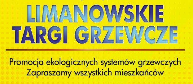 Zapraszamy na Limanowskie Targi Grzewcze! - zdjęcie główne