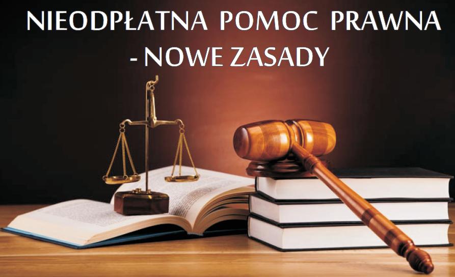 Nowe zasady darmowej pomocy prawnej w 2019 roku - zdjęcie główne