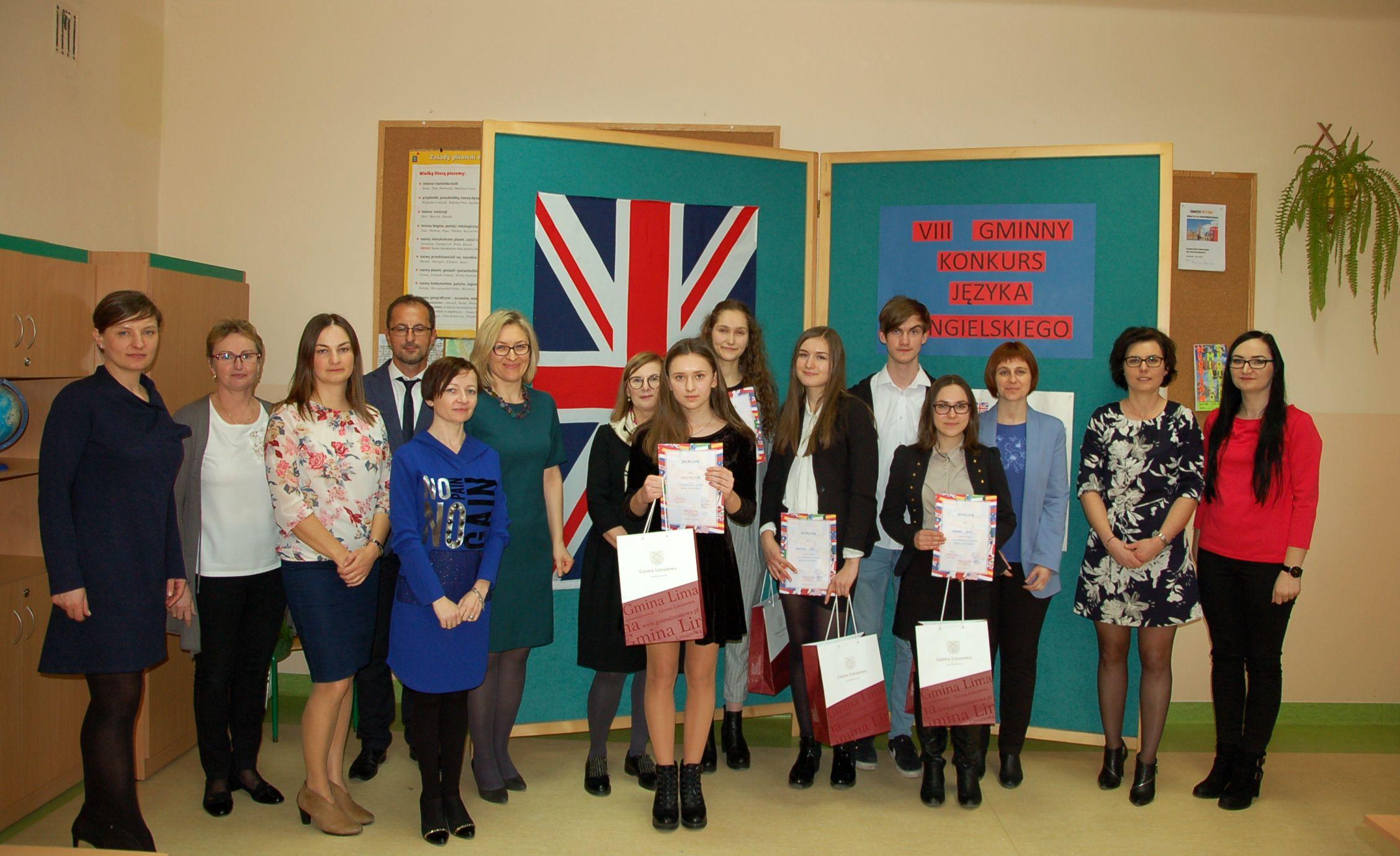 VIII Gminny Konkurs Języka Angielskiego w Mordarce - zdjęcie główne