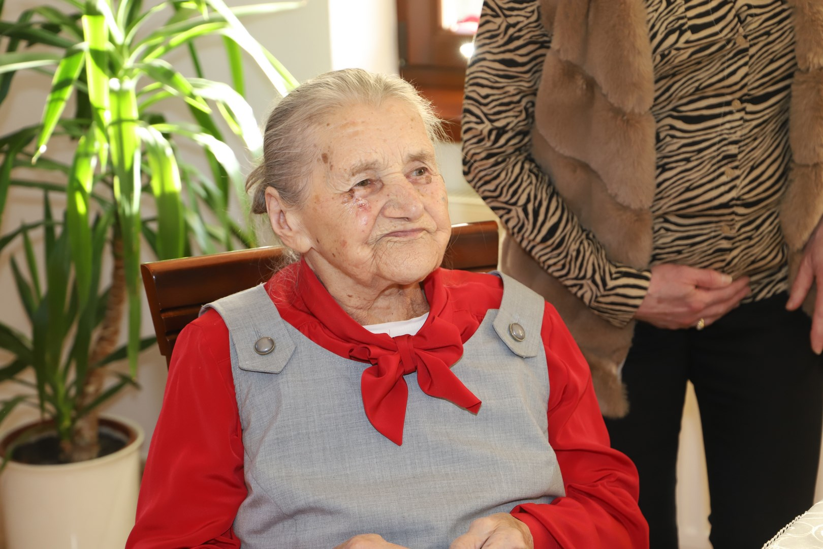 1OO - tne urodziny Genowefy Wilczek z Pasierbca - zdjęcie główne