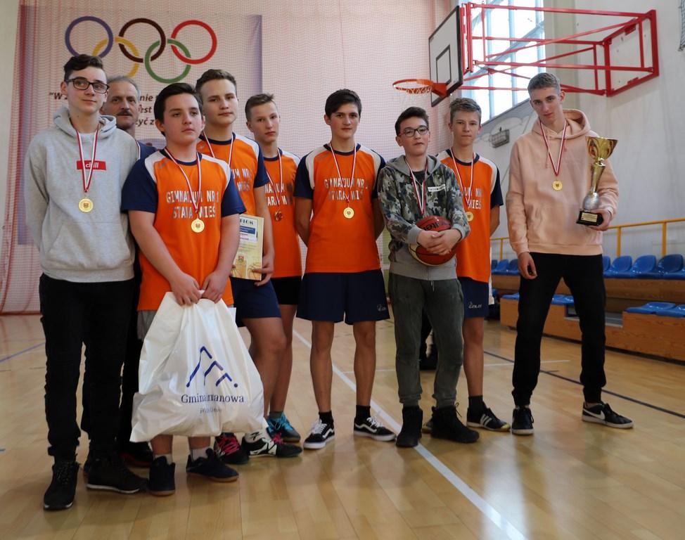 Znani Mistrzowie Gminy w Piłce Koszykowej - Igrzyska Młodzieży Szkolnej - zdjęcie główne