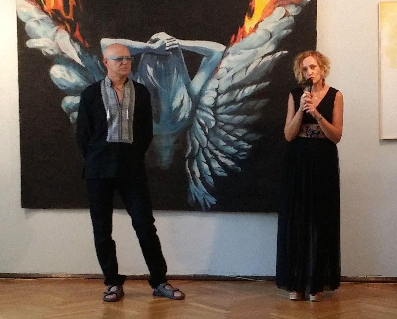 """""""Oto człowiek"""" wystawa malarstwa i rysunku Agnieszki Pałki i Jacka Stanisza - zdjęcie główne"""