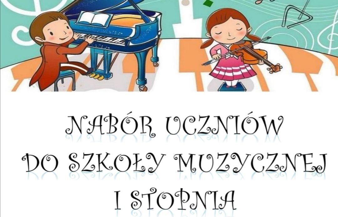 Szkoła Muzyczna I stopnia w Żegocinie ogłasza nabór uczniów na rok szkolny 2020/2021! - zdjęcie główne