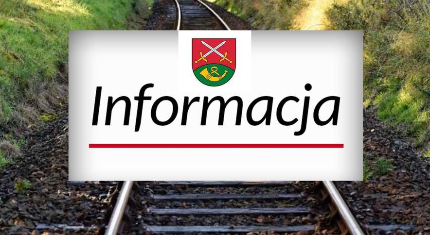 Budowa linii kolejowej - zgłoszenie rozpoczęcia robót geologicznych - zdjęcie główne