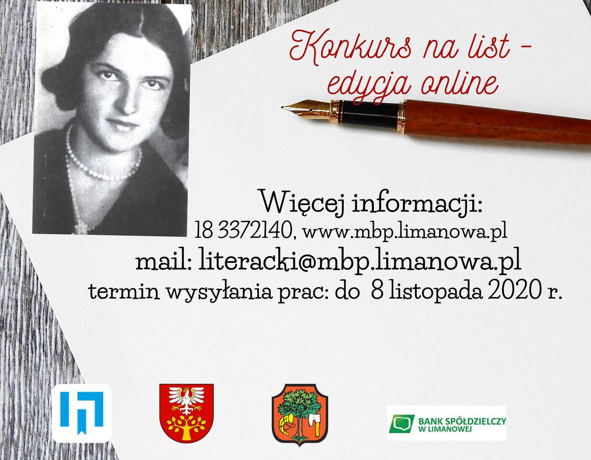 Konkurs Literacki im. Zosi Smreczyńskiej  edycja online - zgłoszenia przedłużone do 8 listopada - zdjęcie główne