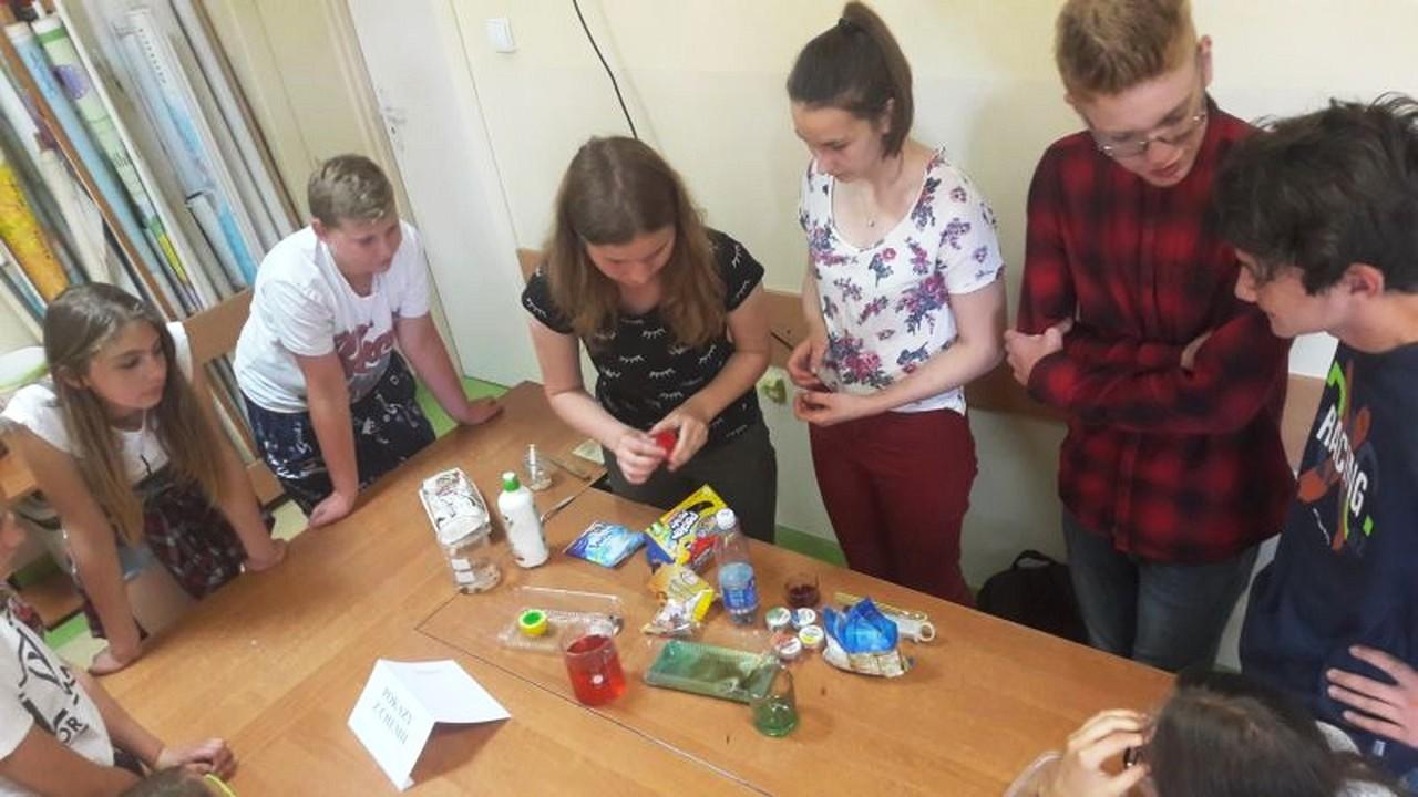 Dni Matematyki i Nauk Przyrodniczych w Zespole Szkół w Mordarce - zdjęcie główne