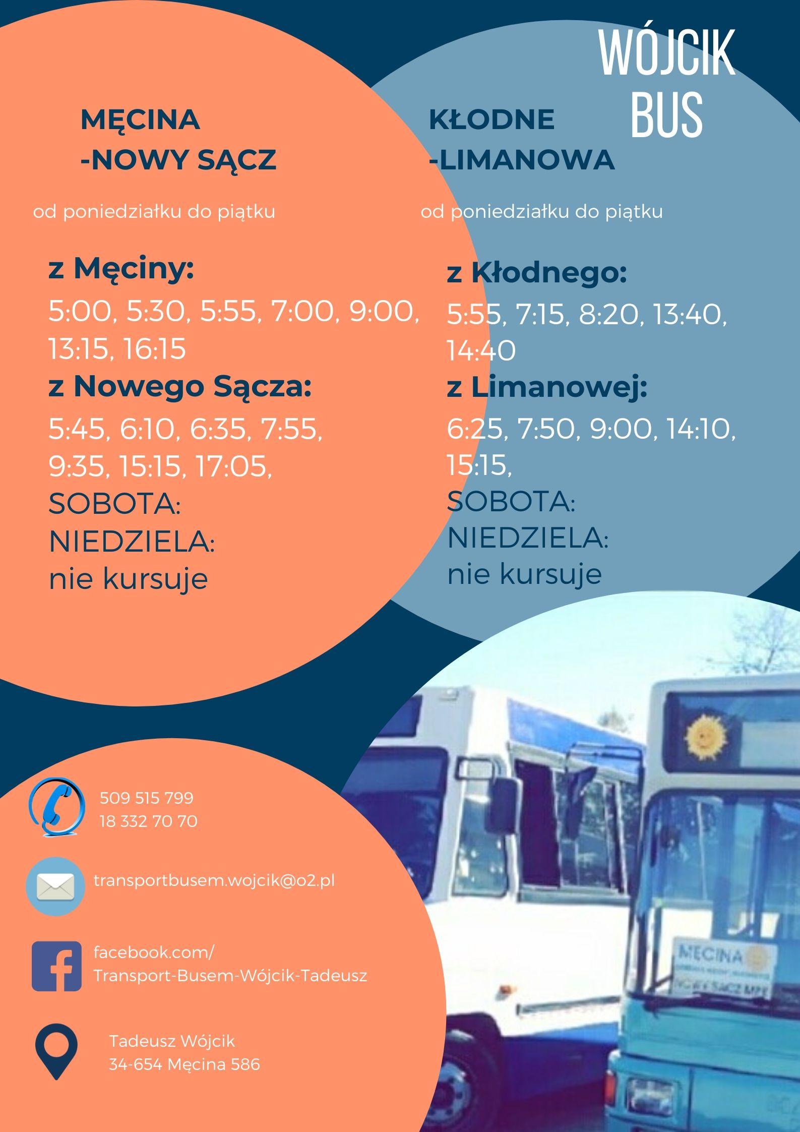 Zmiana rozkładu jazdy busów - zdjęcie główne