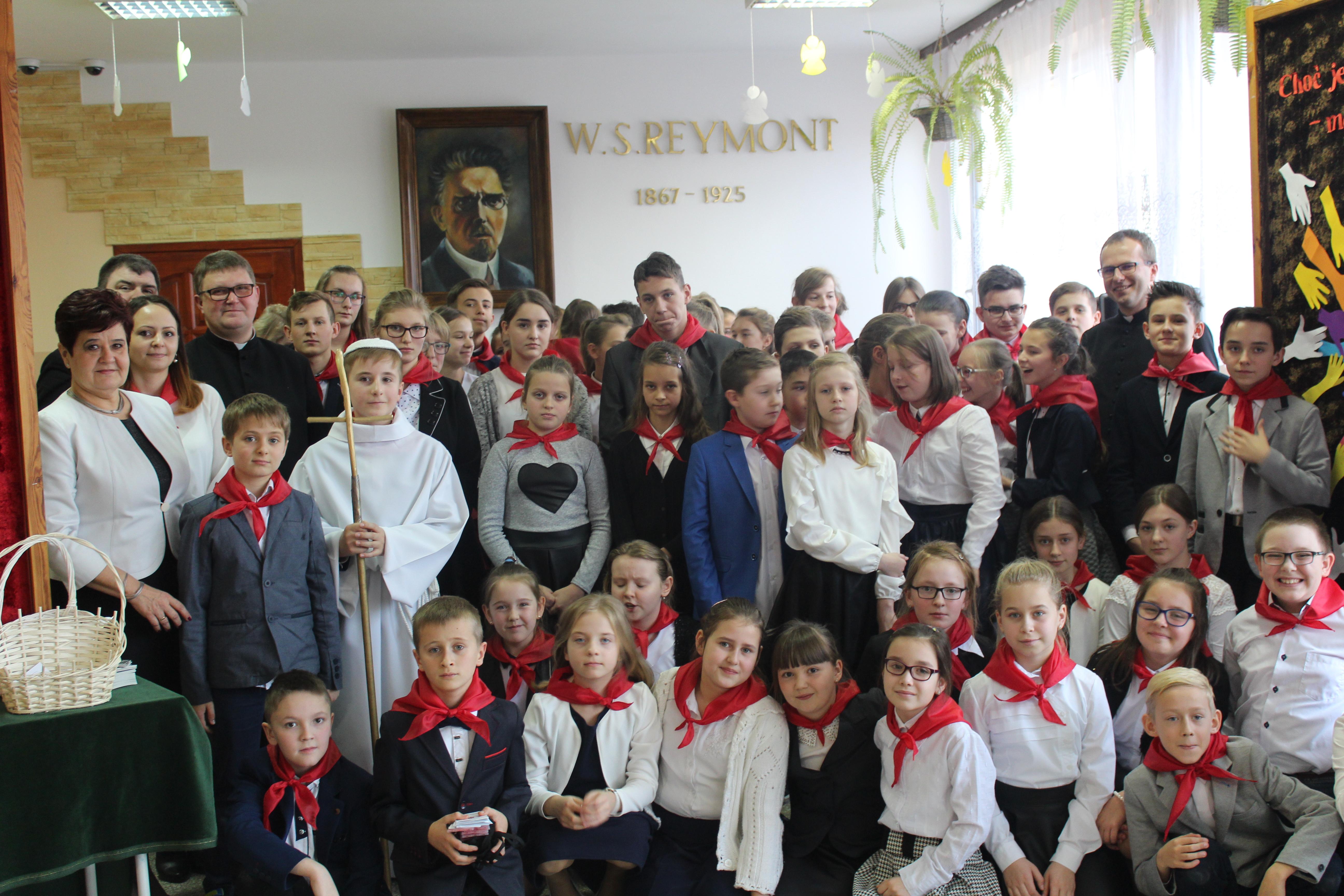 Inauguracja Szkolnego Koła Caritas w Szkole Podstawowej w Pasierbcu - zdjęcie główne