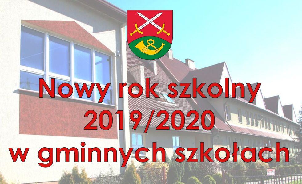 Rok szkolny 2019/2020 w szkołach gminnych - zdjęcie główne