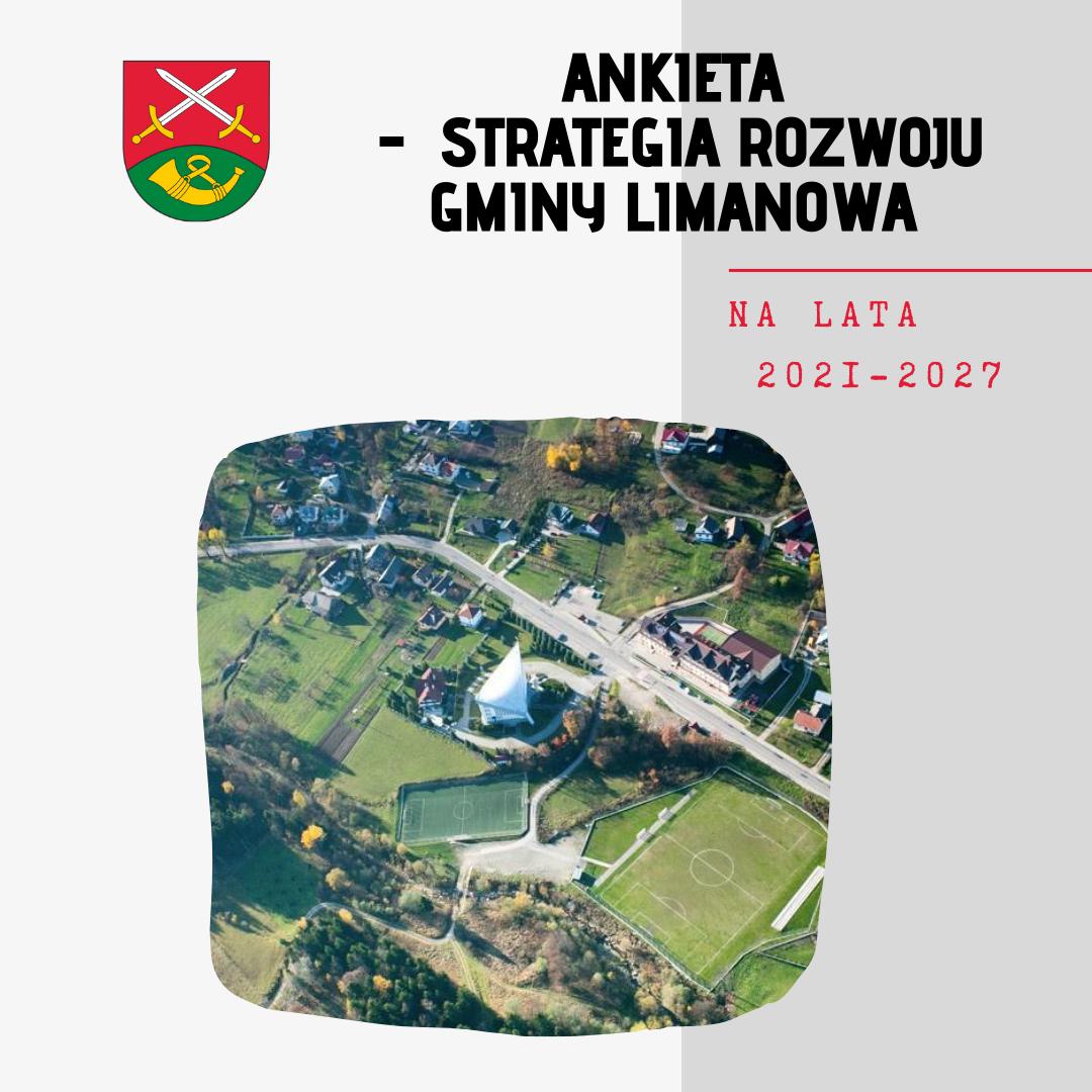Ankieta ws. opracowania Strategii Rozwoju Gminy Limanowa na lata 2021-2027 - zdjęcie główne