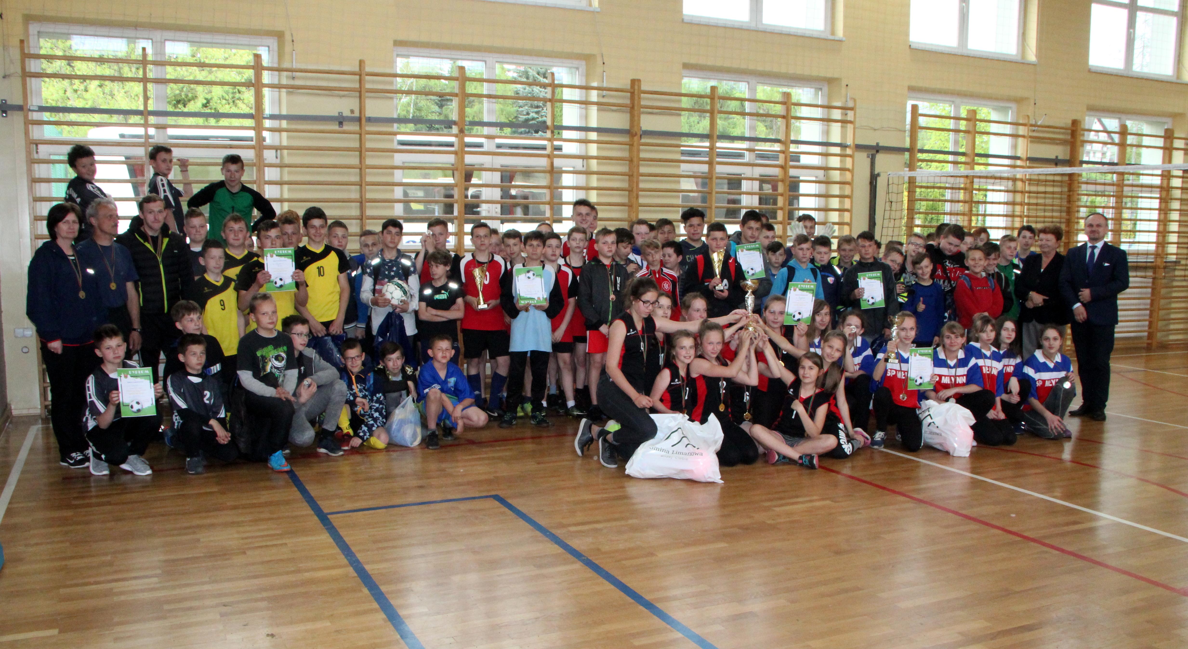 Mistrzostwa gminy w piłce nożnej chłopców i dziewczat ur. 2006 i młodszych - zdjęcie główne