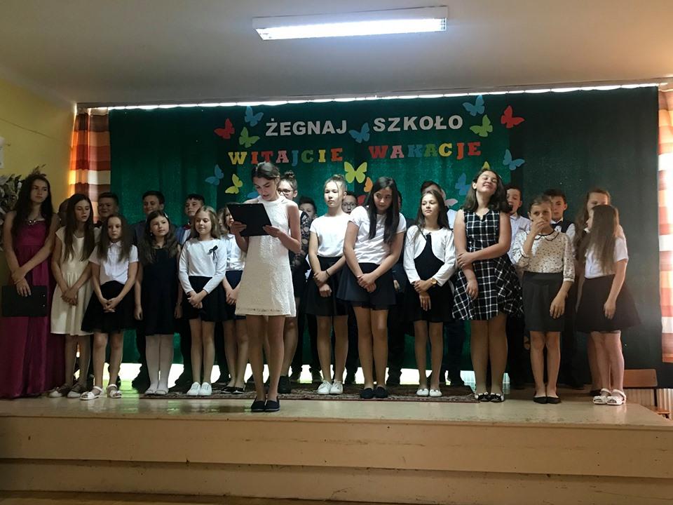 Zakończenie roku szkolnego 2018/2019 w Szkole Podstawowej w Kaninie - zdjęcie główne