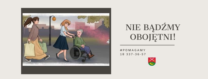 Obejmijmy troską i opieką bliskich, sąsiadów, szczególnie osoby starsze - apel Wójta Gminy Limanowa - zdjęcie główne