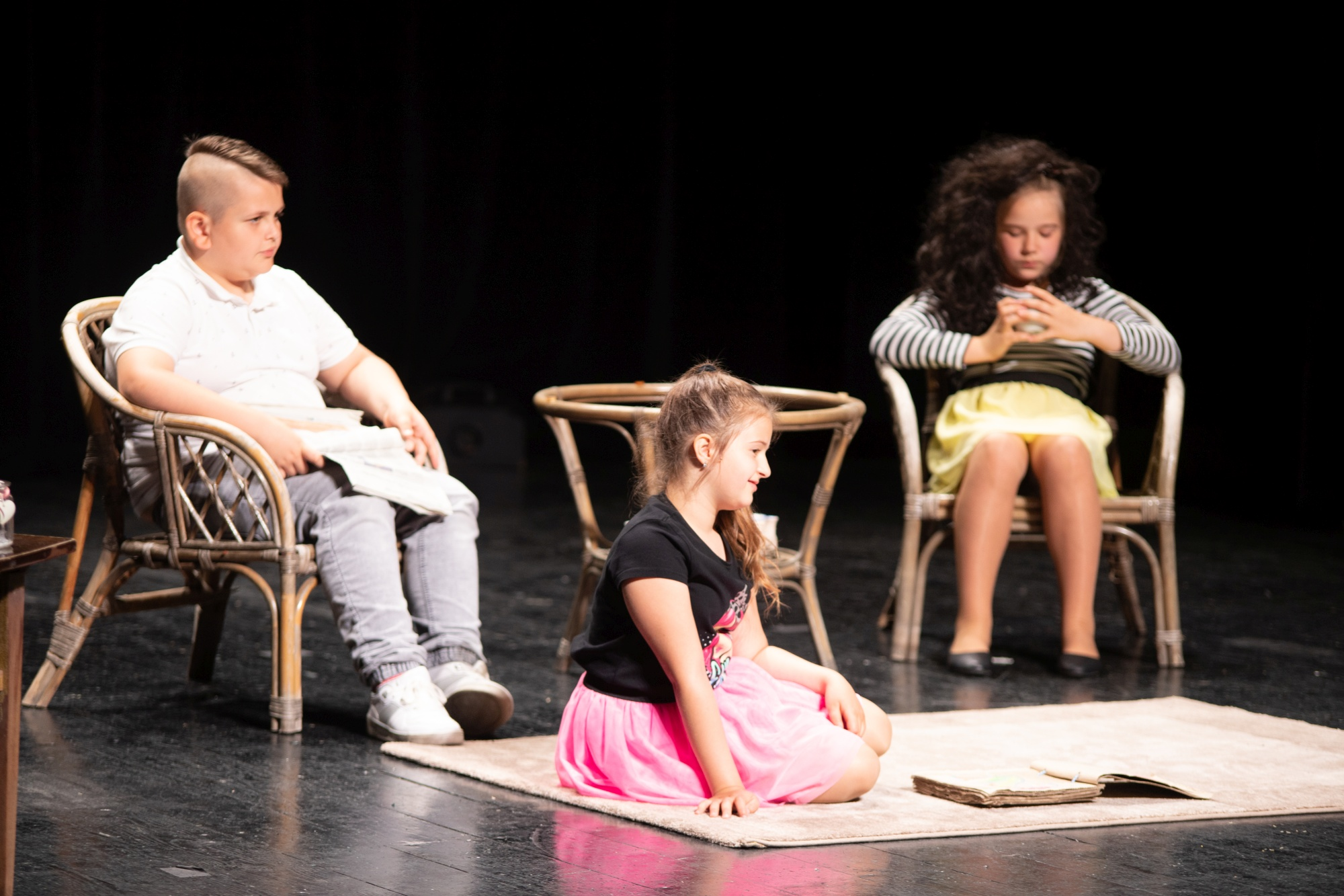 Aktorskie sukcesy uczniów Szkoły Podstawowej Nr 2 w Męcinie - zdjęcie główne