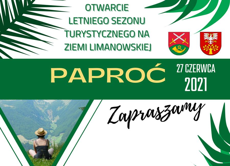 """Już w najbliższą niedzielę """"Otwarcie Letniego Sezonu Turystycznego"""" na Paproci - zdjęcie główne"""