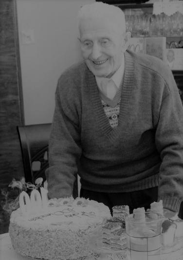 Odszedł  101 –letni  mieszkaniec  Męciny -  Józef Kubatek - zdjęcie główne