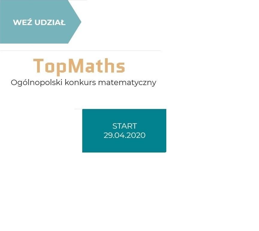 TopMaths - Ogólnopolski Konkurs Matematyczny - zdjęcie główne