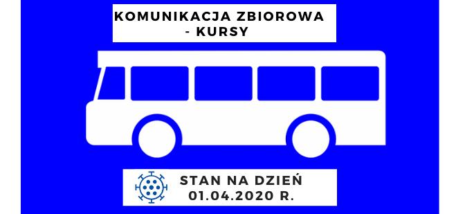 Komunikacja zbiorowa od dnia 1 kwietnia 2020 r. - zdjęcie główne