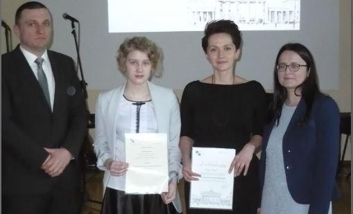 Uczennica z Pasierbca Finalistką Małopolskiego Konkursu z Języka Niemieckiego - zdjęcie główne