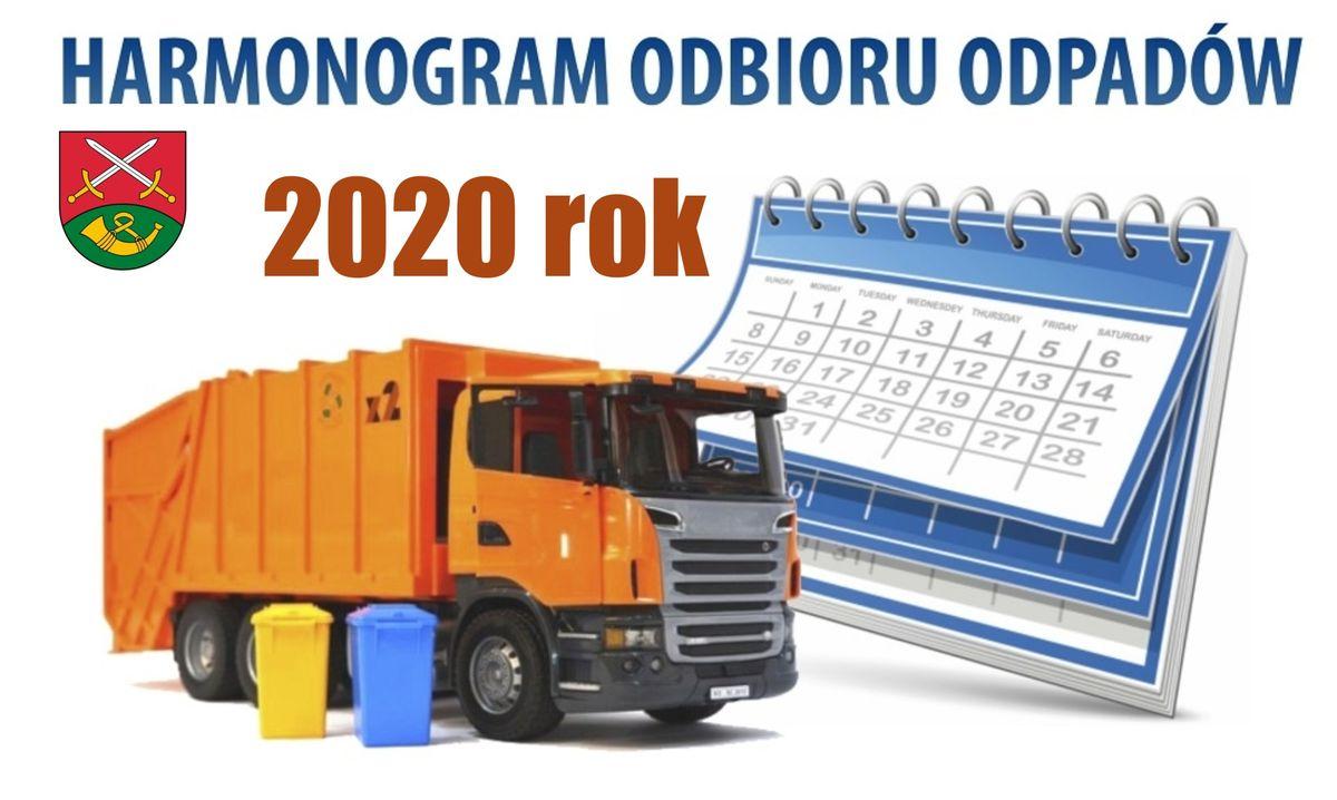 Odbiór odpadów komunalnych w 2020 roku - zdjęcie główne