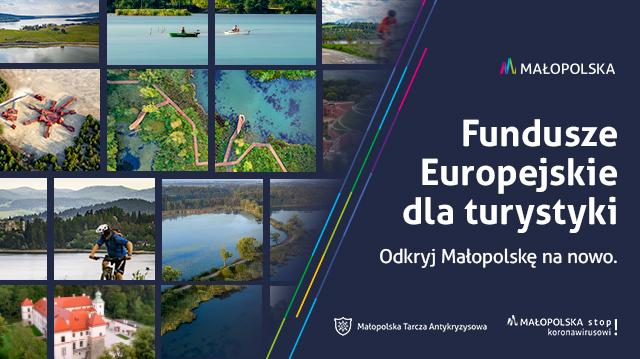 Fundusze Europejskie dla turystyki. Odkryj Małopolskę na nowo - letnia kampania billboardowa - zdjęcie główne