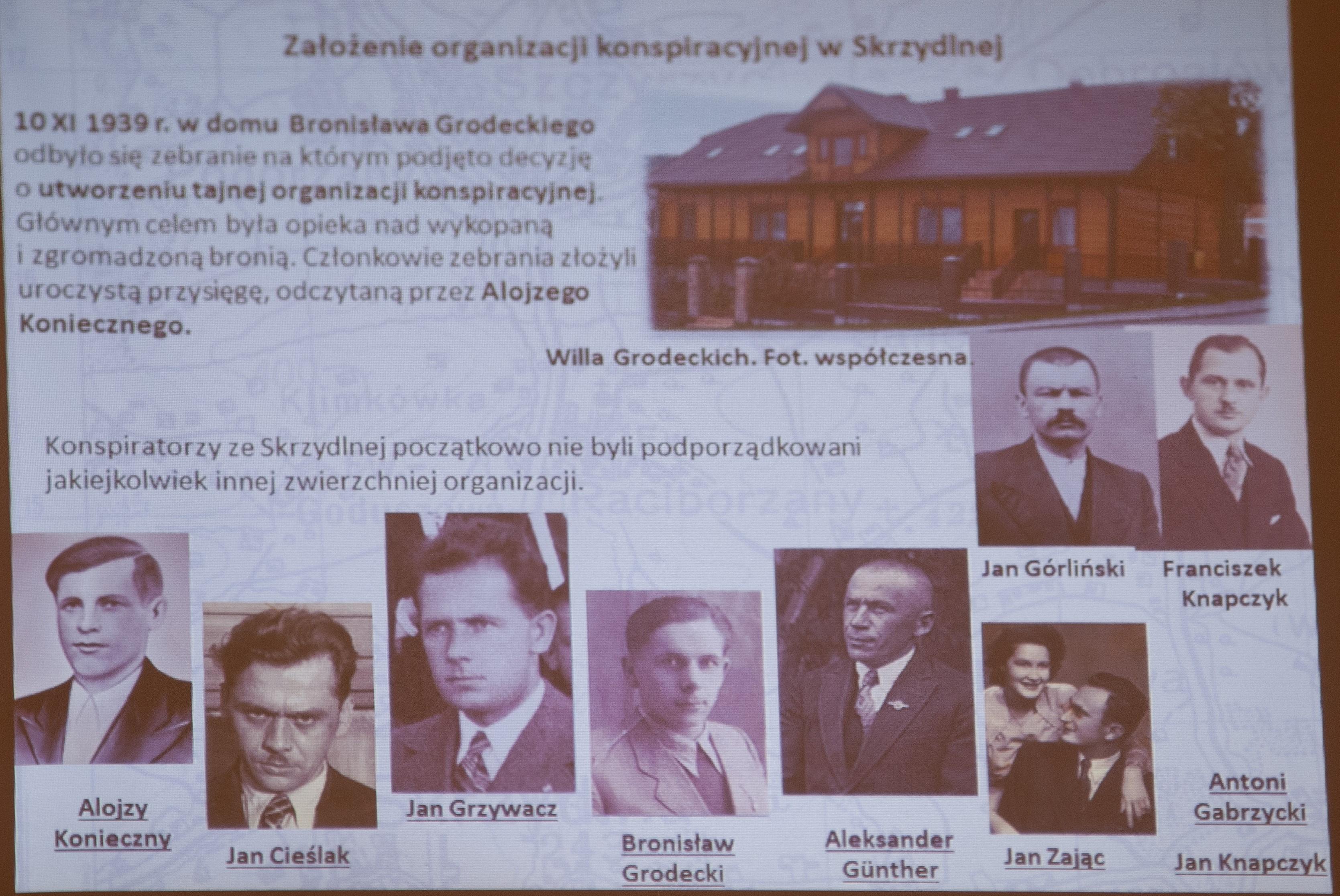 """Projekt """"Ojcowie Konspiracji Ziemi Limanowskiej 1939 - 1942"""" - zdjęcie główne"""