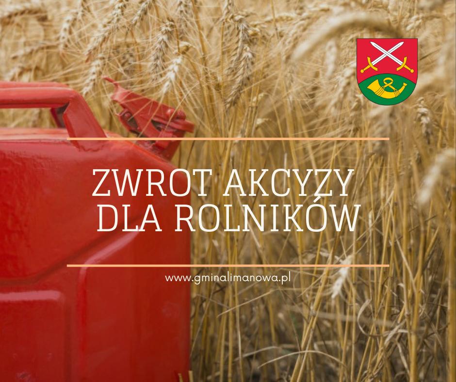 Zwrot akcyzy za paliwo rolnicze - zdjęcie główne