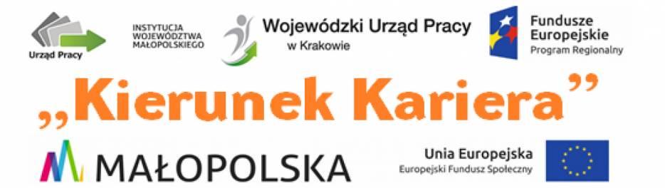 """Projekt """"Kierunek Kariera"""" - szkolenia za bony w Małopolsce - zdjęcie główne"""