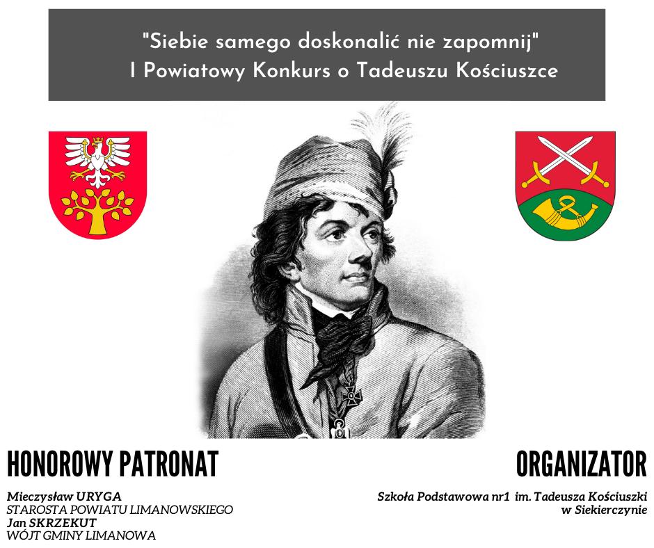Wyniki I Powiatowego Konkursu o Tadeuszu Kościuszce - zdjęcie główne