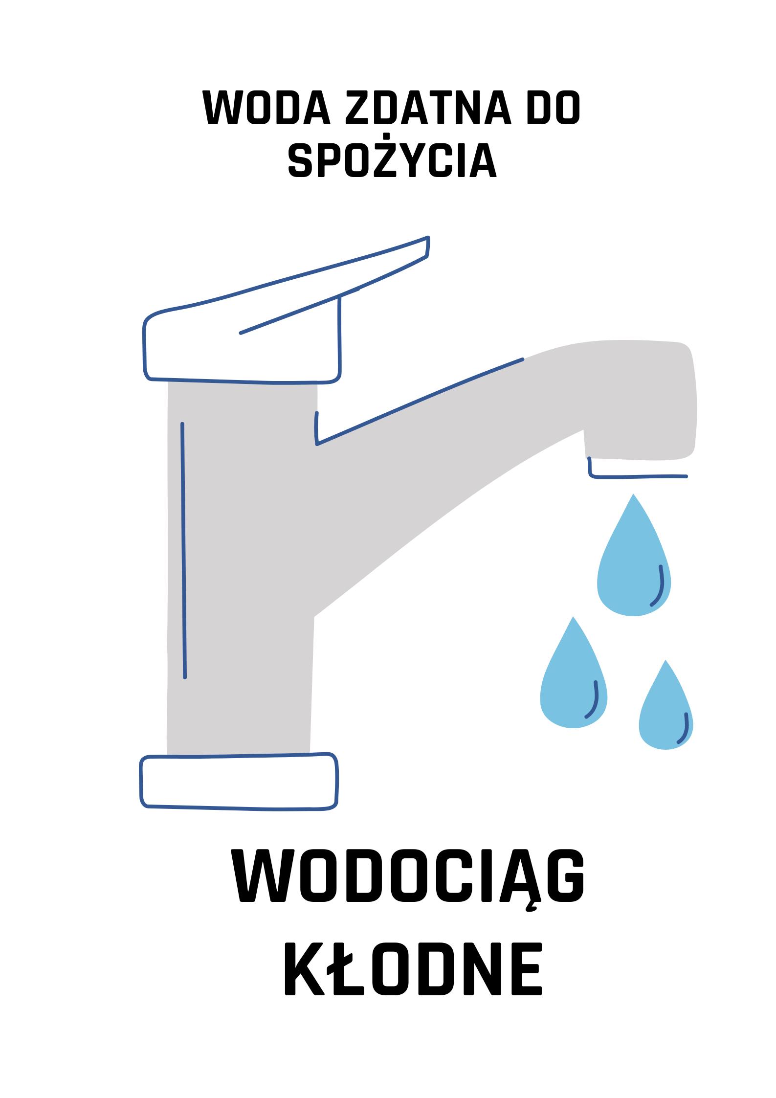 Woda z wodociągu Kłodne zdatna do picia - zdjęcie główne