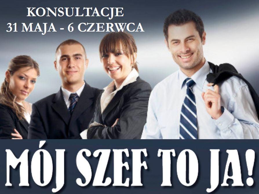 """Konsultacje do kolejnej edycja projektu """"Mój szef to ja!"""" - zdjęcie główne"""