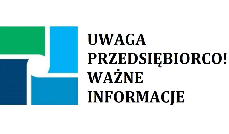 Komunikat w sprawie zdublowanych wpisów w CEIDG - zdjęcie główne