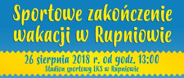 Sportowe zakończenie wakacji w Rupniowie - zdjęcie główne