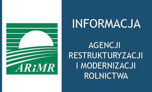 Komunikat ARiMR - ograniczenie wizyt w placówkach ARiMR - zdjęcie główne