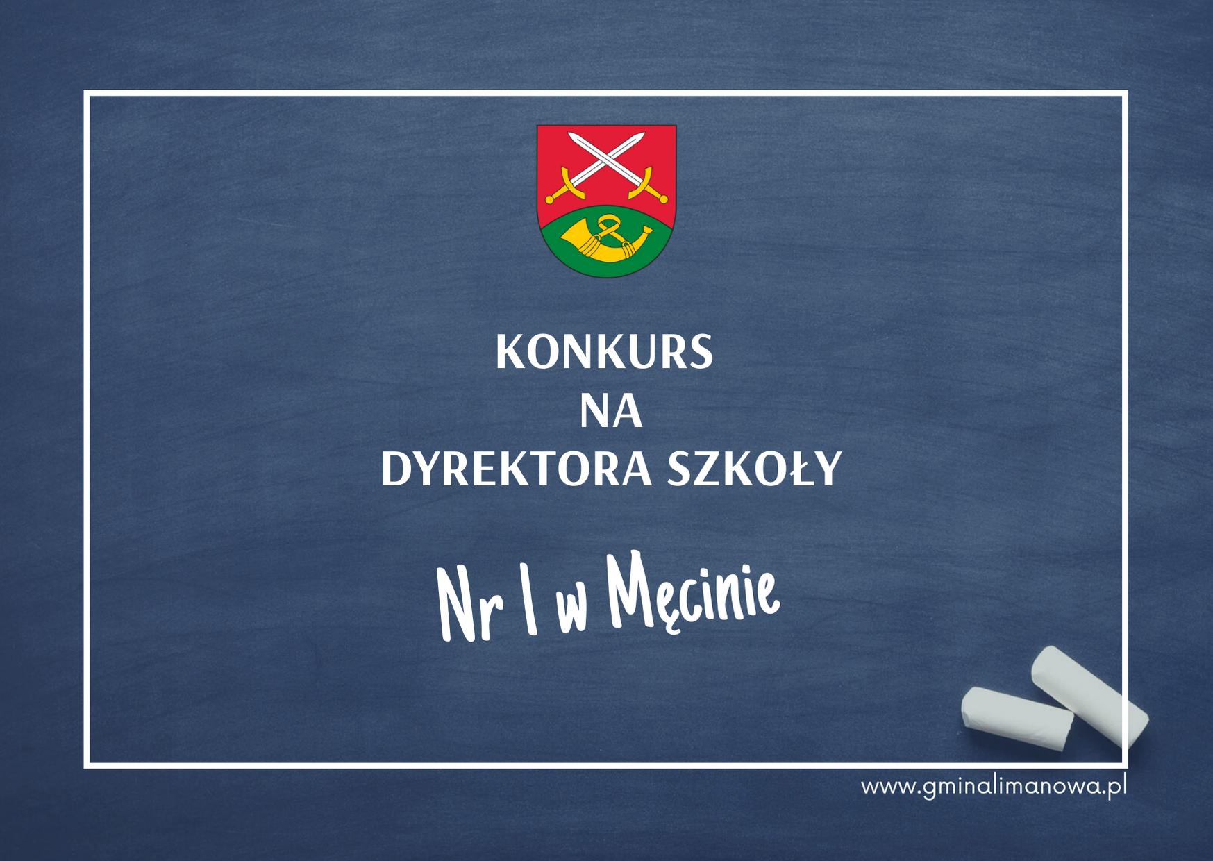 Ogłoszenie o konkursie na dyrektora Szkoły Podstawowej Nr 1 w Męcinie - zdjęcie główne