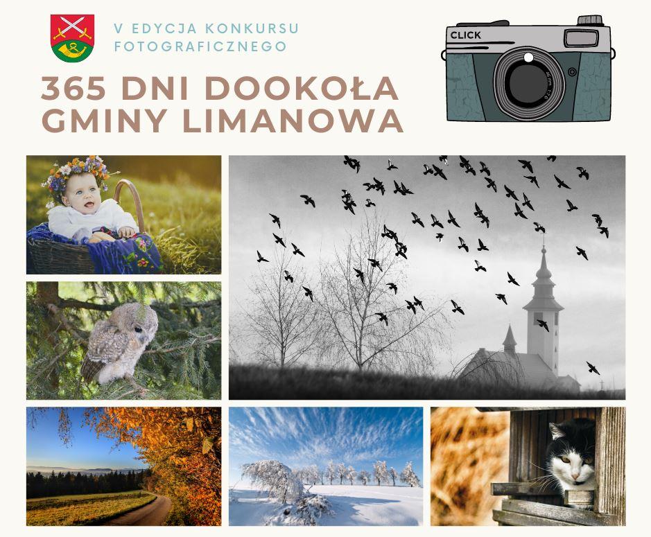 Zapraszamy do udziału w V edycji Konkursu Fotograficznego - W 365 dni dookoła Gminy Limanowa - zdjęcie główne
