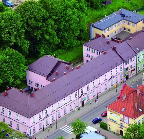 Budynek Urzędu Gminy Limanowa