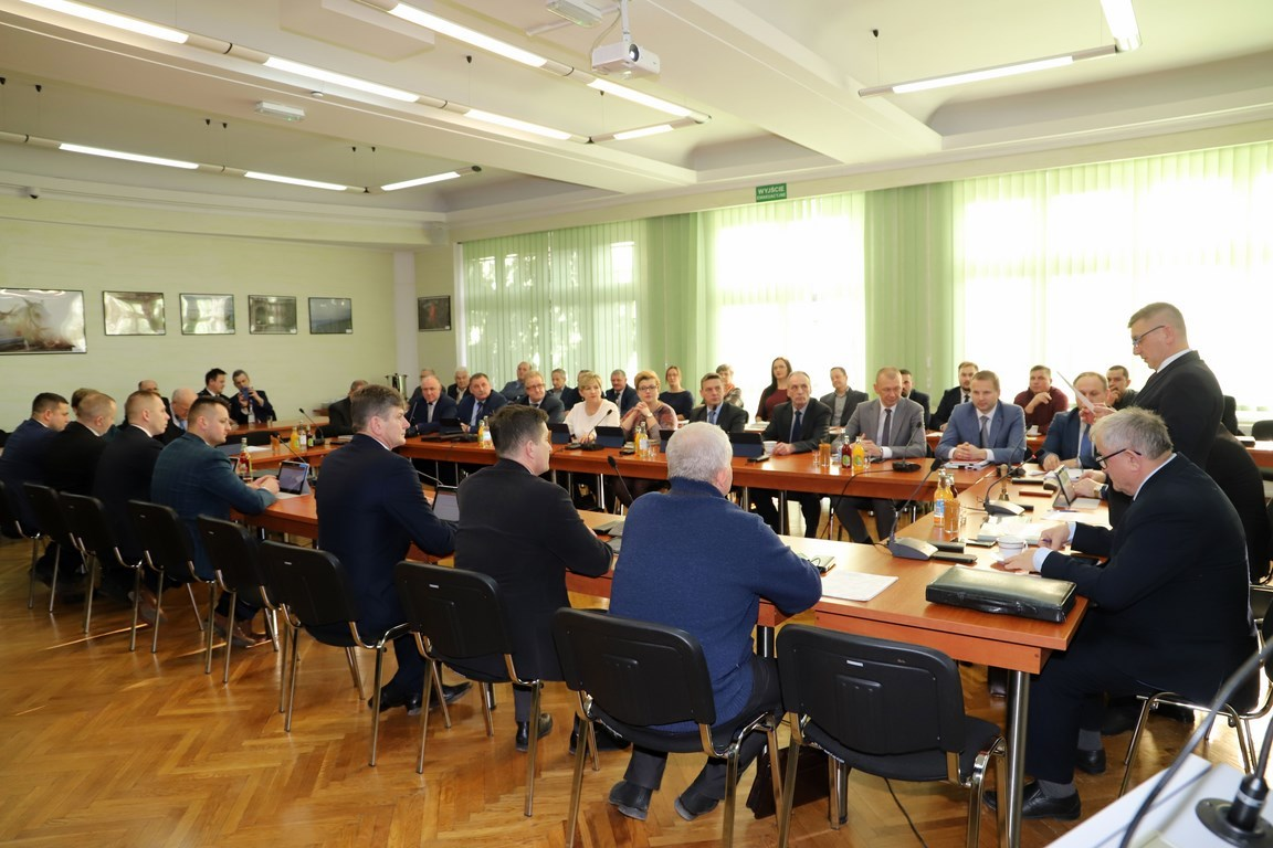 Informacja o XII sesji Rady Gminy Limanowa - zdjęcie główne
