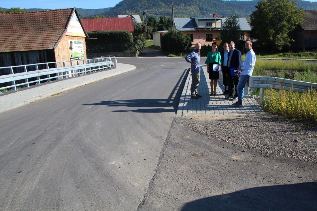 Nowe drogi w Pisarzowej i Wysokiem - zdjęcie główne