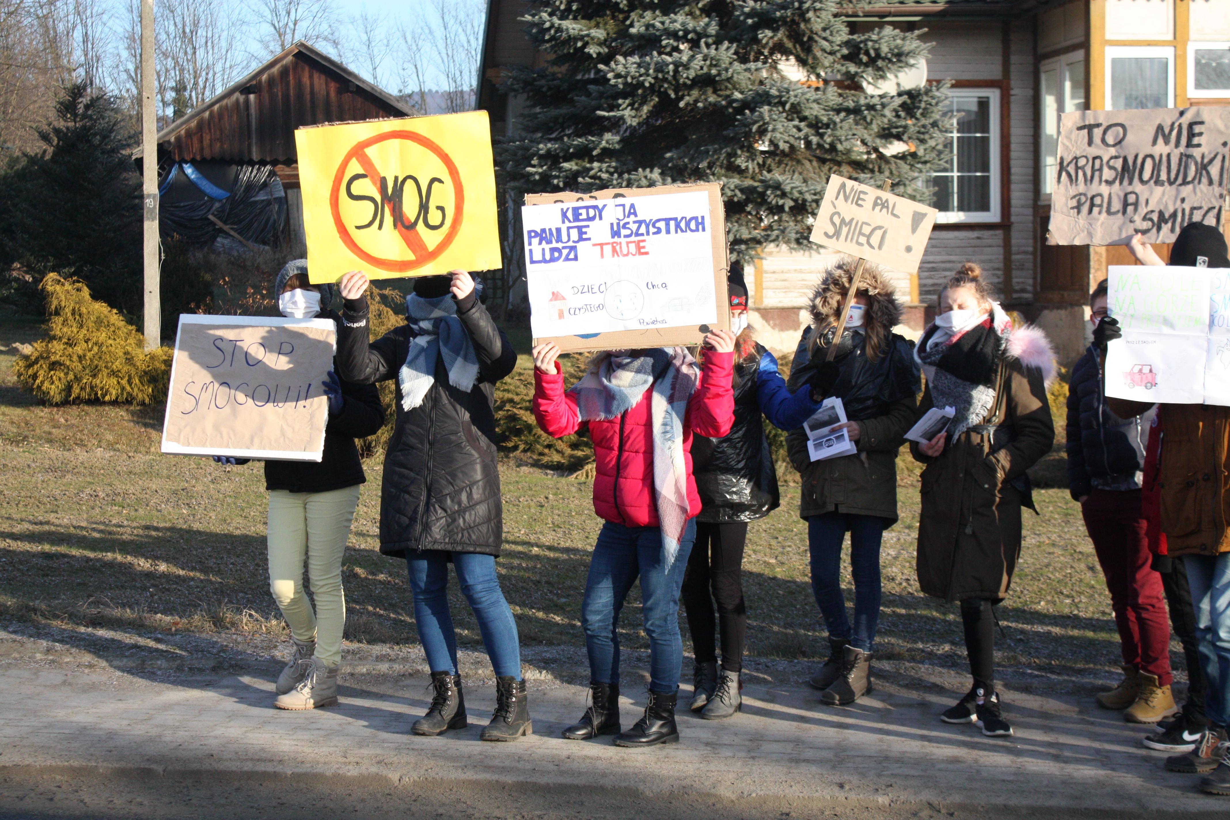 Kampania antysmogowa w Szkole Podstawowej nr 1 w Męcinie - zdjęcie główne