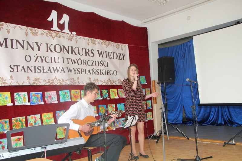 XI Gminny Konkurs Wiedzy o Życiu i Twórczości Stanisława Wyspiańskiego w Zespole Szkół w Rupniowie - zdjęcie główne