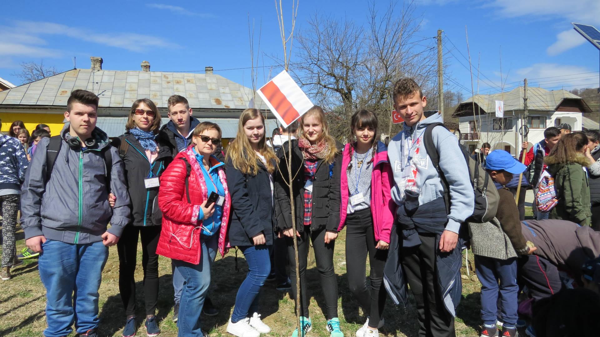 Uczniowie ZS nr 1 w Starej Wsi z wizytą w Rumunii - zdjęcie główne