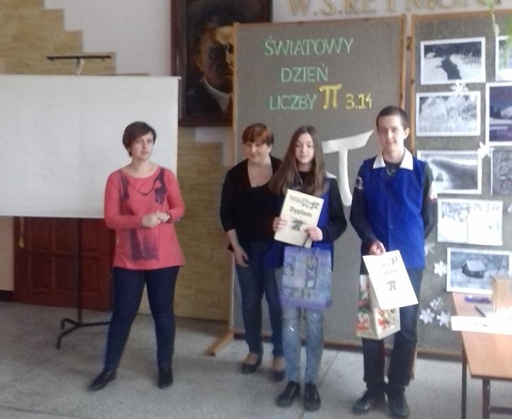 Dzień Liczby Pi w Szkole Podstawowej w Pasierbcu - zdjęcie główne