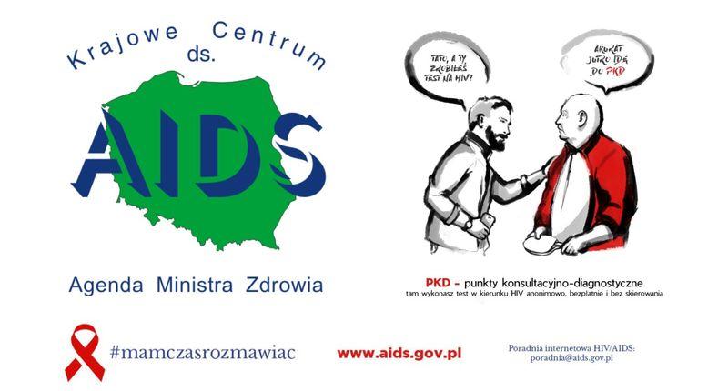 """Ruszyła kampania edukacyjna Krajowego Centrum ds. AIDS """"Mam czas rozmawiać"""" - zdjęcie główne"""