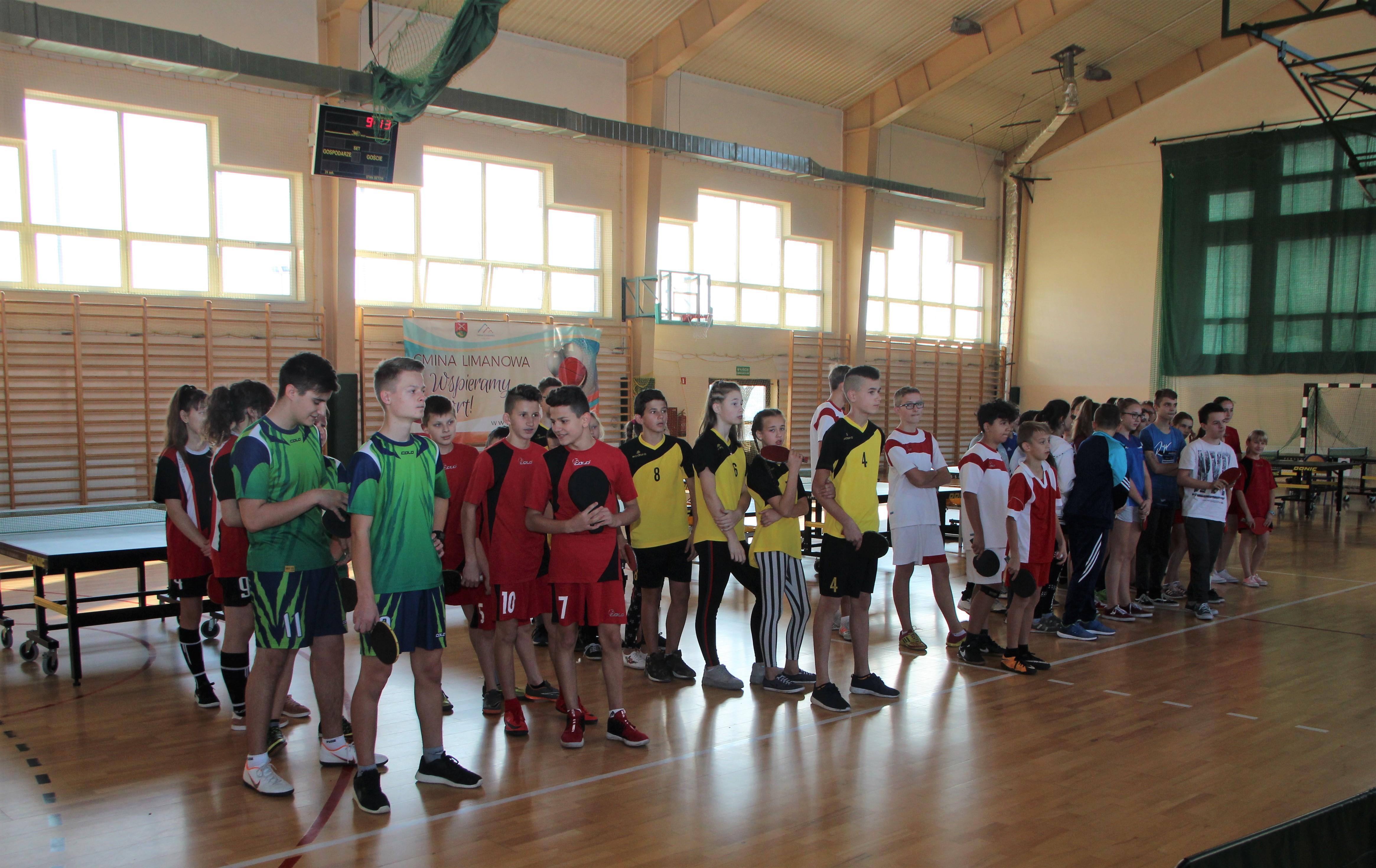 Mistrzostwa gminy Limanowa w tenisie stołowym - zdjęcie główne