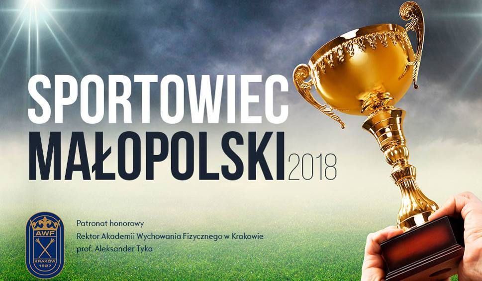 Do 28 grudnia trwa głosowanie w Plebiscycie SPORTOWIEC MAŁOPOLSKI 2018 - zdjęcie główne