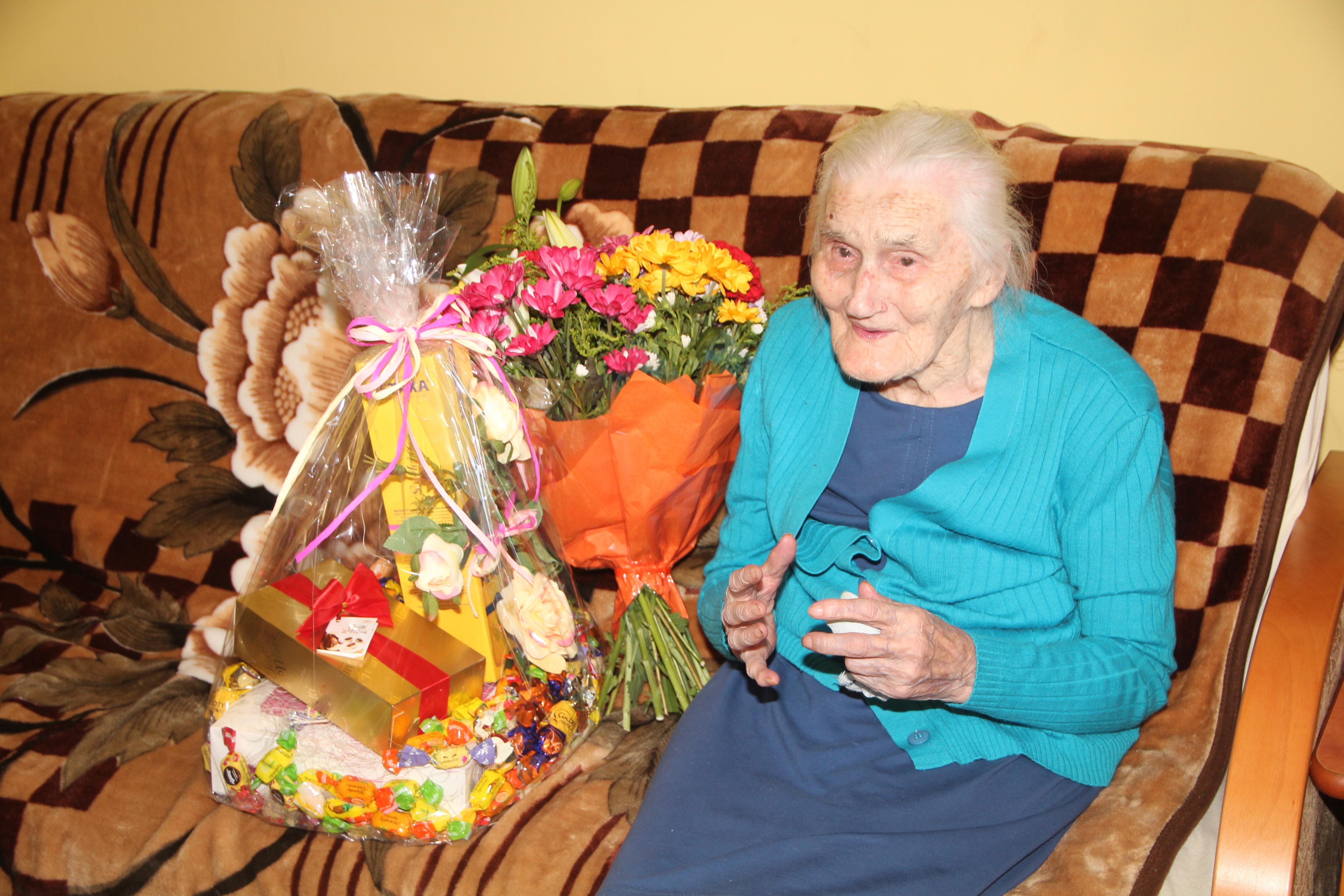 Najstarsza mieszkanka gminy świętowała 104 urodziny! - zdjęcie główne