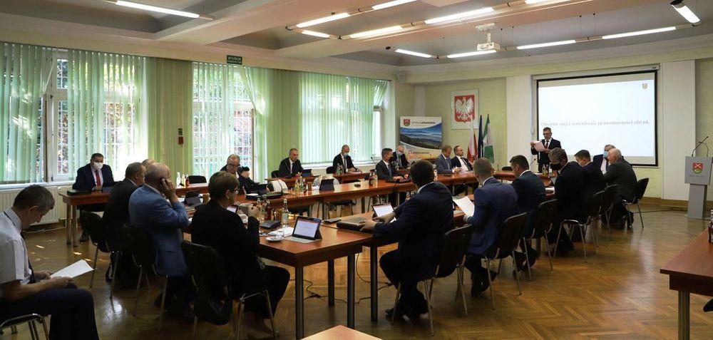 Informacja o XV sesji Rady Gminy Limanowa - zdjęcie główne